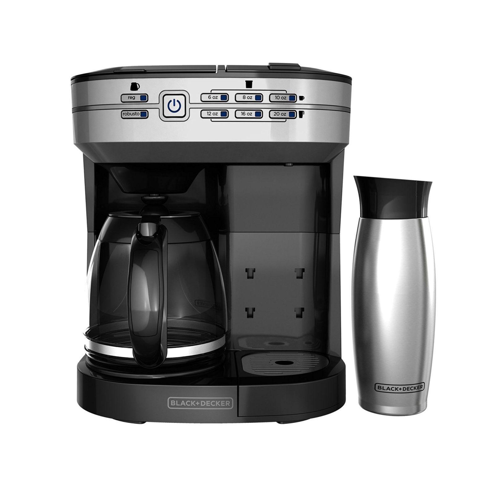 Black + Decker Café Select Dual Brew CM6000BDM Coffee