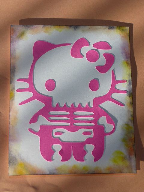Hello Kitty - Halloween Card by CocoaChi, via Flickr