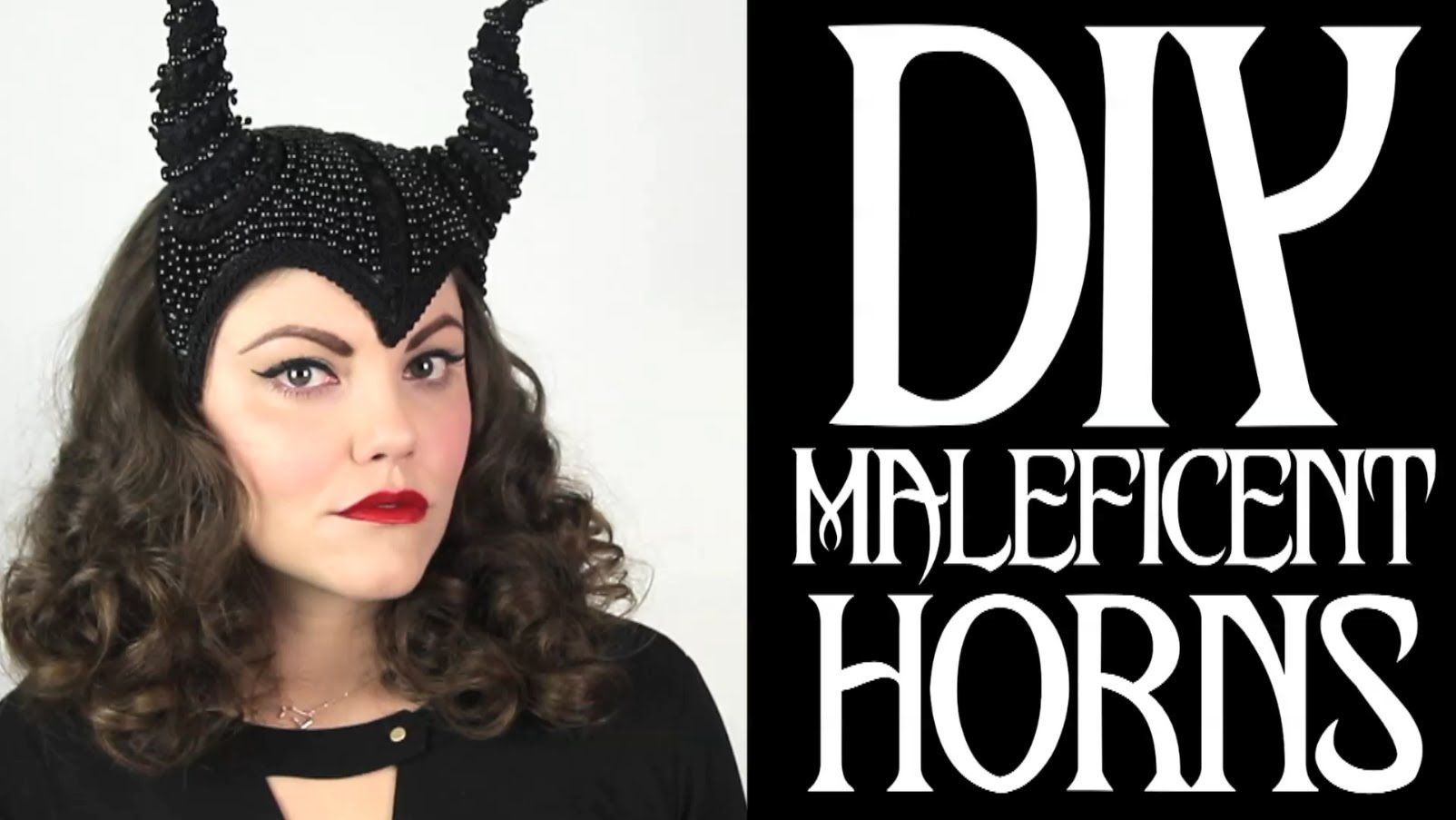 Tutorial for a badass diy maleficent horned headwear great tutorial for a badass diy maleficent horned headwear great tutorial for making fascinator kind of solutioingenieria Image collections