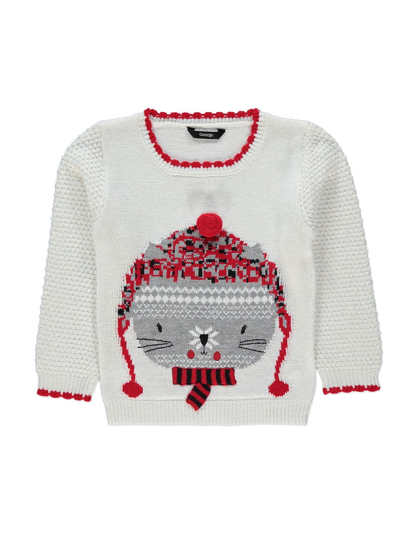 d299501dc5c8 Novelty Christmas Cat Jumper
