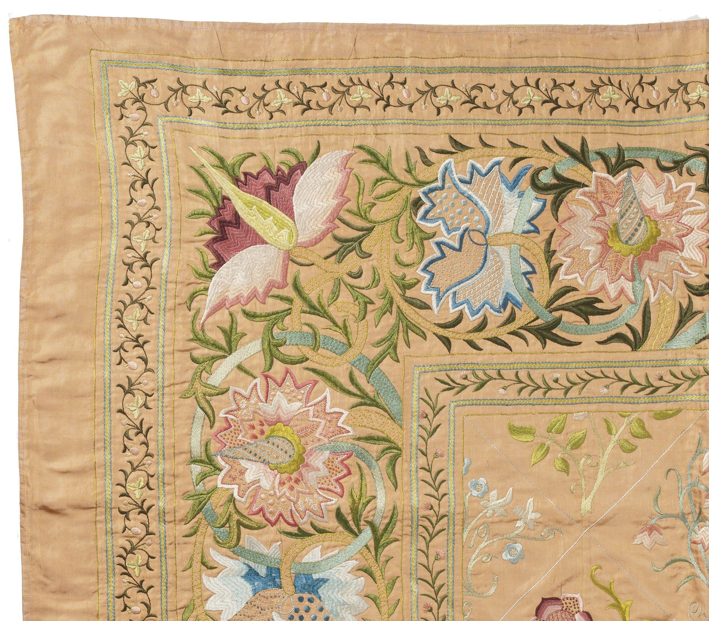 Morris Bedspread Detail Morris Design William Morris