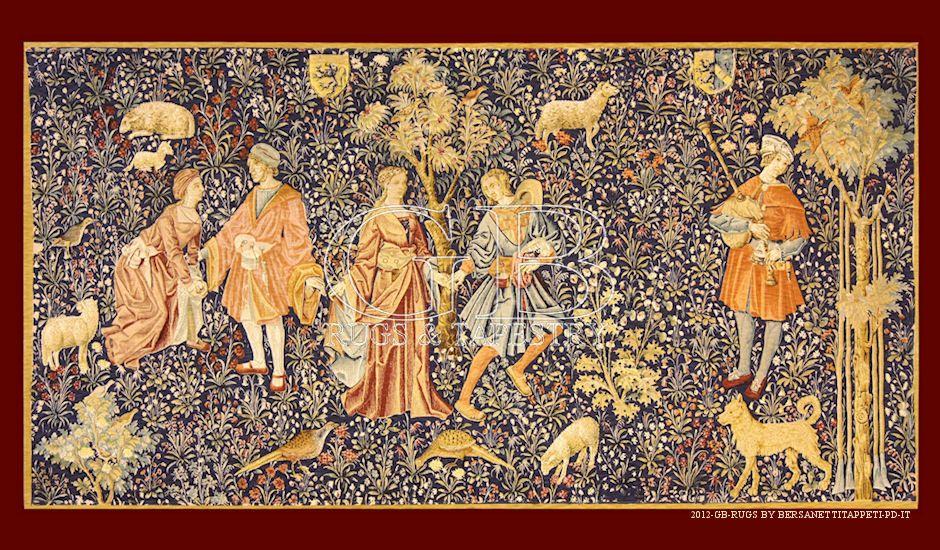 arazzo de rambouillet cm 89 x 149 ft 2 39 9 x 4 39 9 cod 140908562309 tapestries pinterest cod. Black Bedroom Furniture Sets. Home Design Ideas