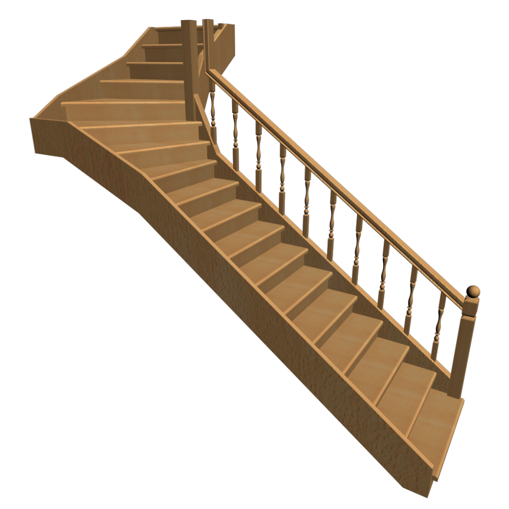 Royal Staircase Cartoon Background