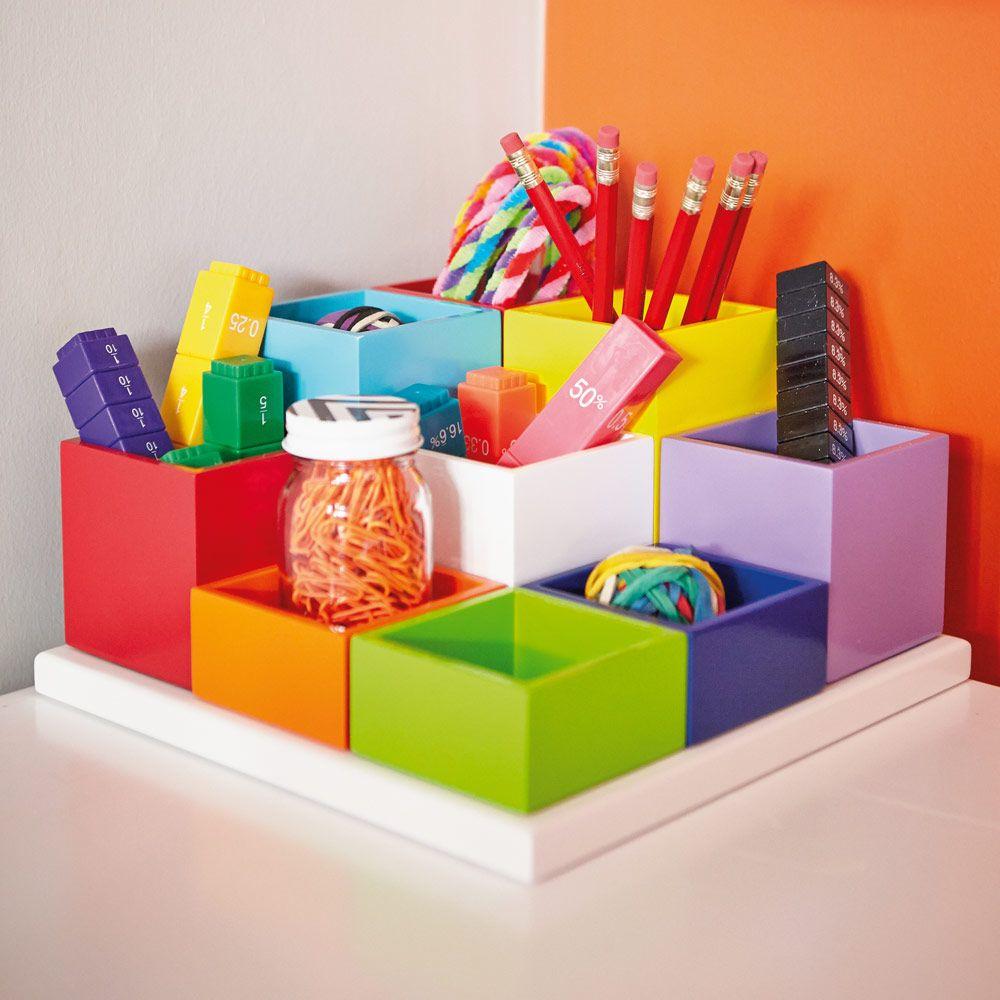Manhattan Desk Tidy Desk Accessories School DIY For House - Childrens desk accessories