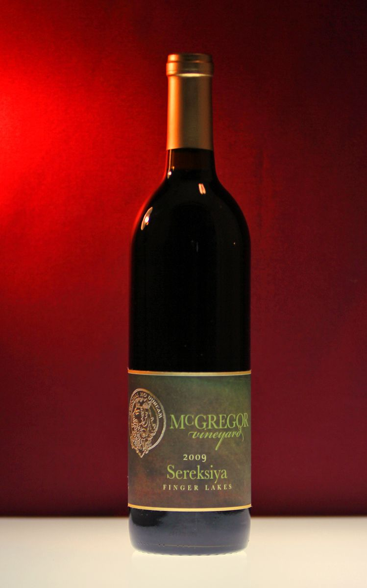 Mcgregor Vineyard Sereksiya Finger Lakes New York Wineries Wine Bottle Wines