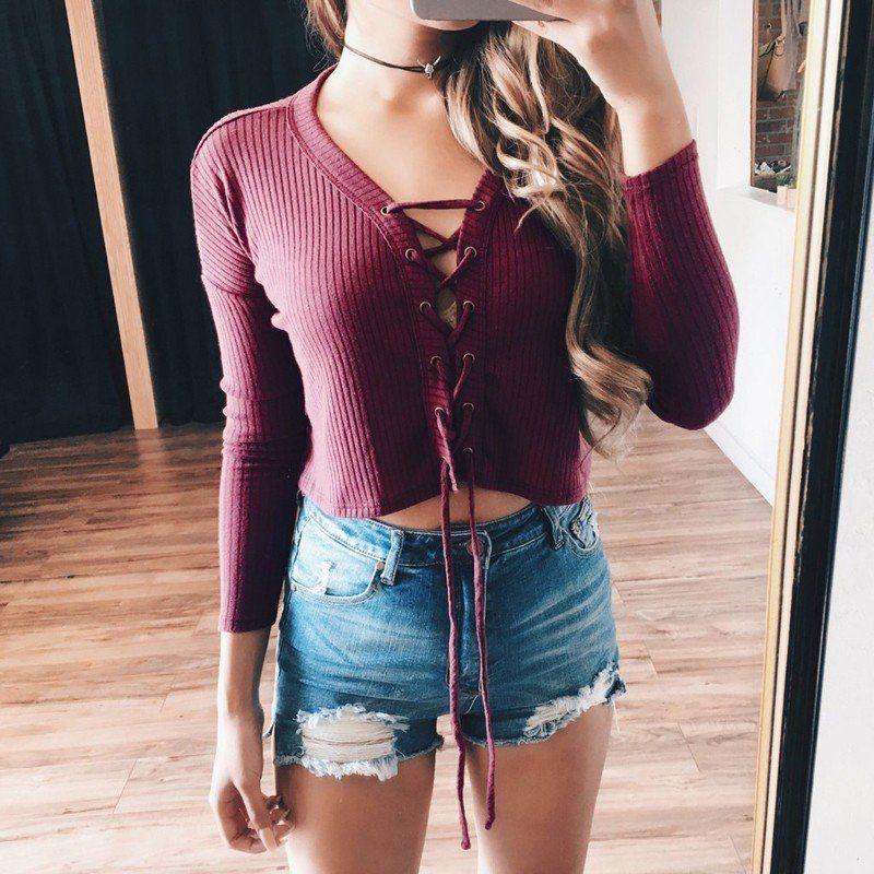 New Fashion Women Knitted Pullover