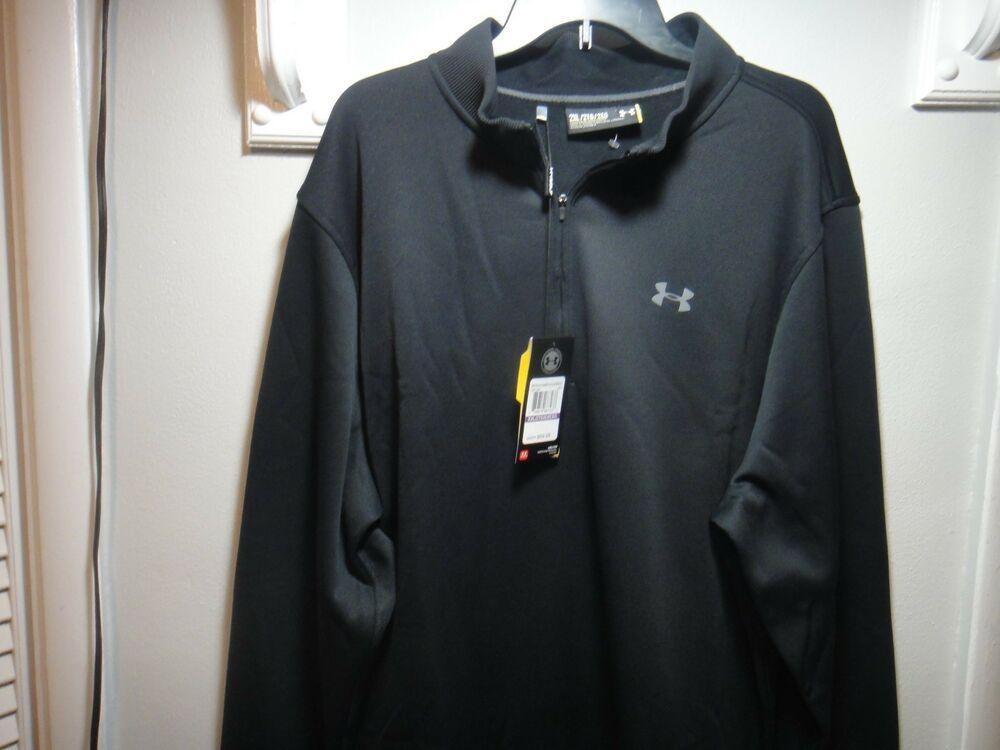 c3b208a8 Under Armour mens Golf Strom Loose 1/4 Zip Sweater Shirt ...