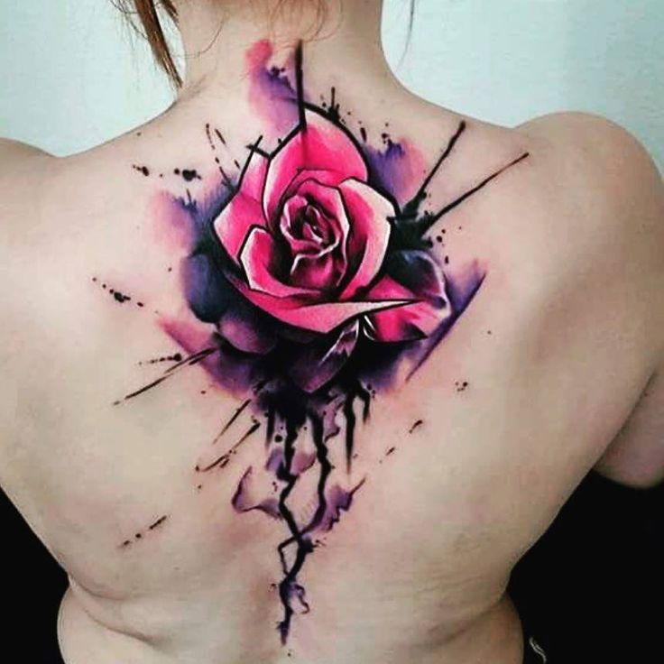 Rose Flower Jeweled Tattoo Flash 17 Best Ideas About Watercolor