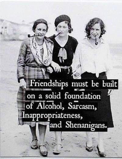 Looking Forward To Shenanigans Friendship Quotes Funny Friends Quotes Funny Friendship Humor