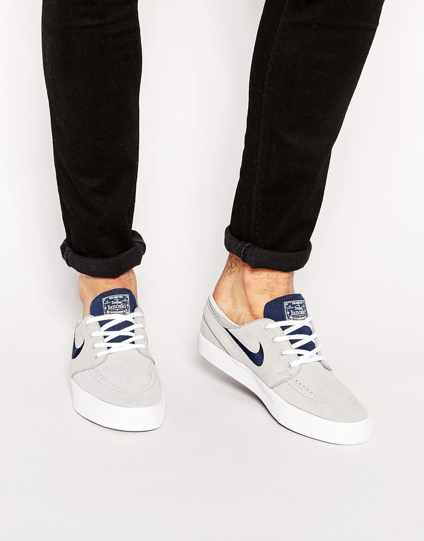 Nike SB Zoom Janoski Trainers In Black Suede sale discounts 2014 new cheap online gn0Puuf