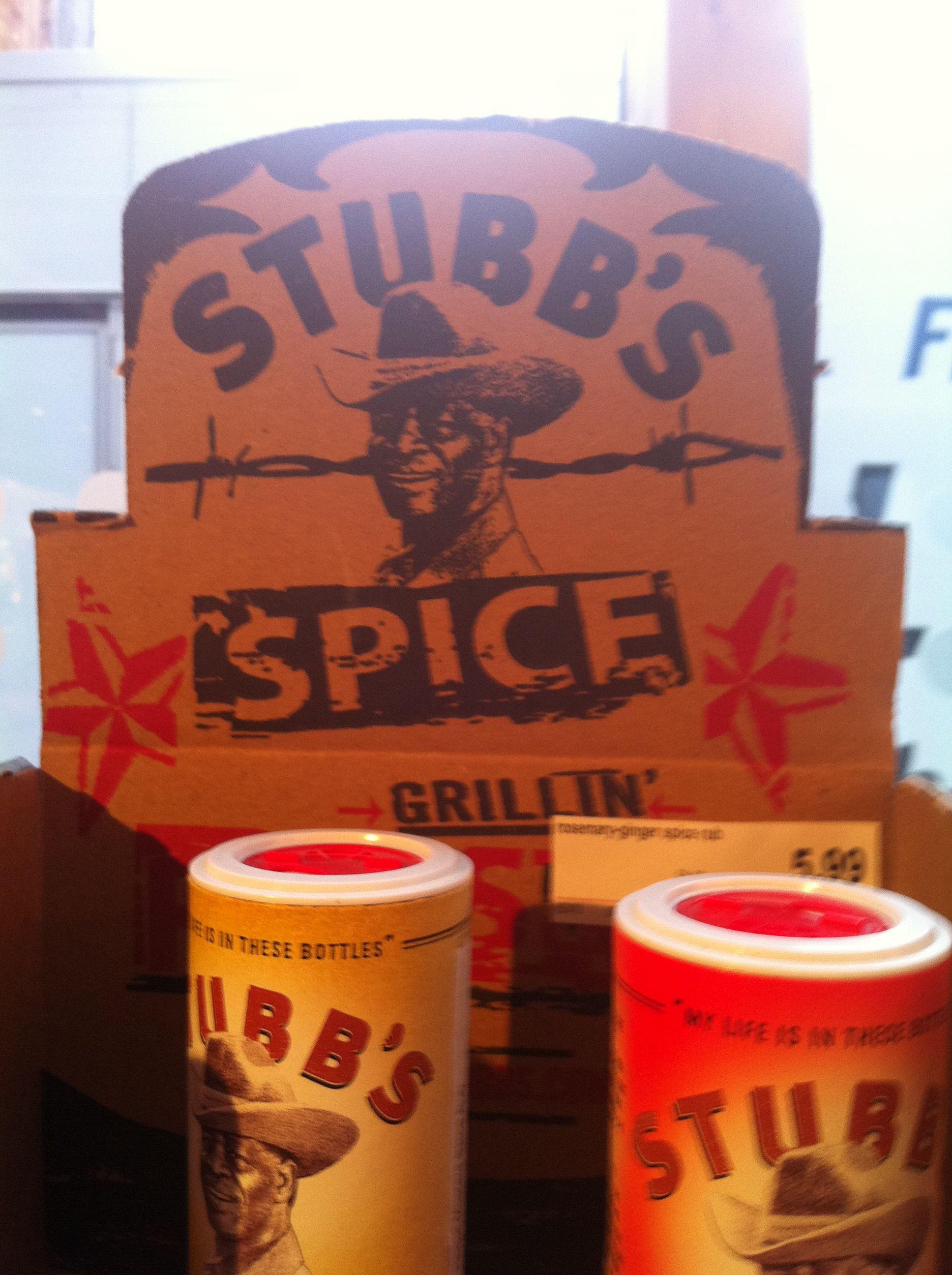 Stubb's BBQ spices! Benieuwd of Stubb's echt bestaat. Verhaal is wel heel erg goed!