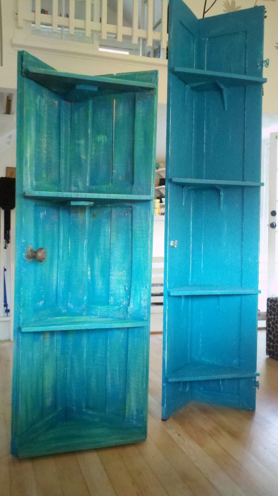Bookshelves Old Doors Old