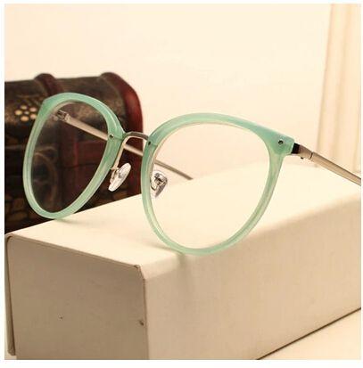 c9a87d497850e Barato Decoração do Vintage óculos ópticos quadro miopia rodada metal homens  mulheres unissex óculos óculos oculos. Óculos De Grau FemininoArmações ...
