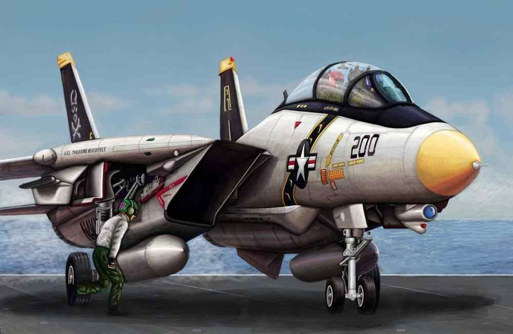 Trumpeter f 14a tomcat in 1144 the kit consists of over 60 parts trumpeter tomcat in the kit consists of over 60 clear part for canopy and windscreen fuselage wing with finely engraved panel lines ccuart Images