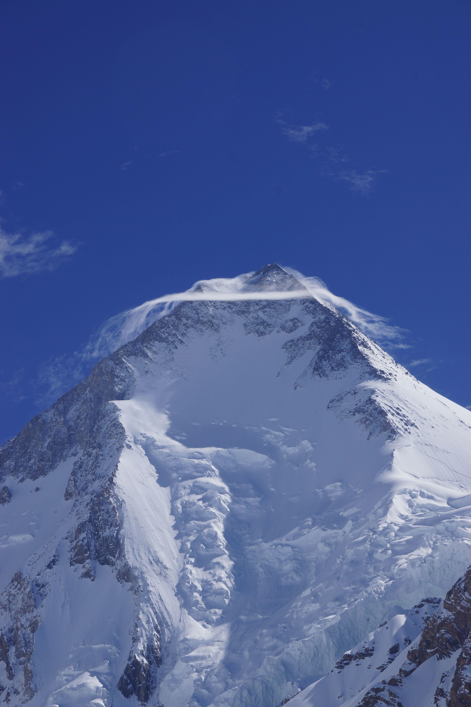 Immagine scattata da Annalisa #Fioretti con #A77 di Sony durante la spedizione sul #Gasherbrum