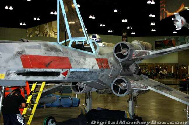 Full-size X-Wing Fighter