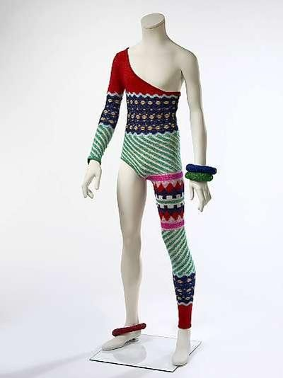 "David Bowies ""Knitted Jumpsuit"" von 1973"