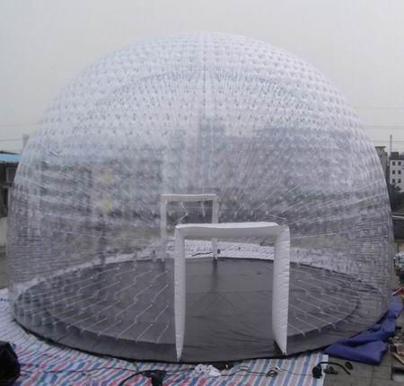 Transparent PVC inflatable Dome tent | #DomeTent & Transparent PVC inflatable Dome tent | #DomeTent | Clear ...