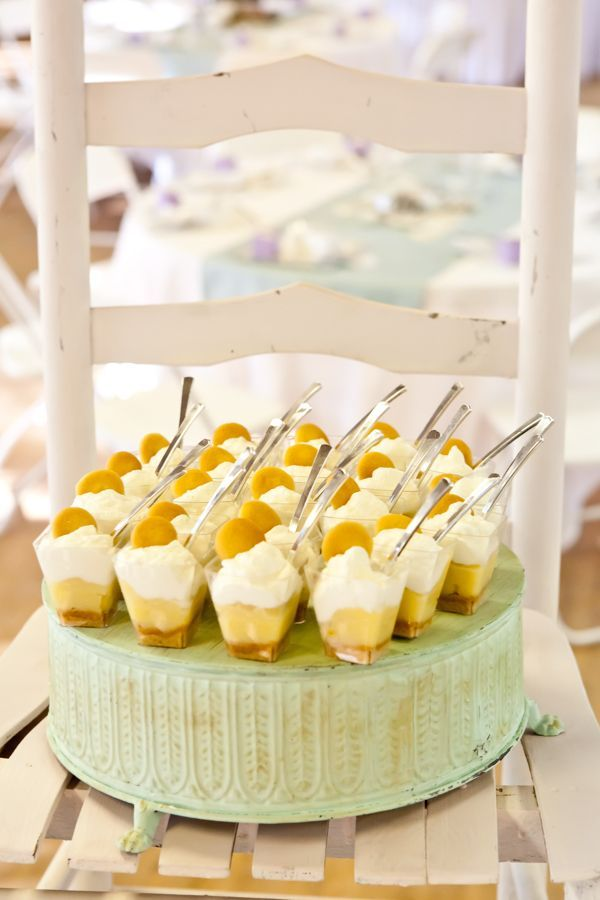 Simple Southern Beauty Wedding Banana Pudding Desserts Wedding
