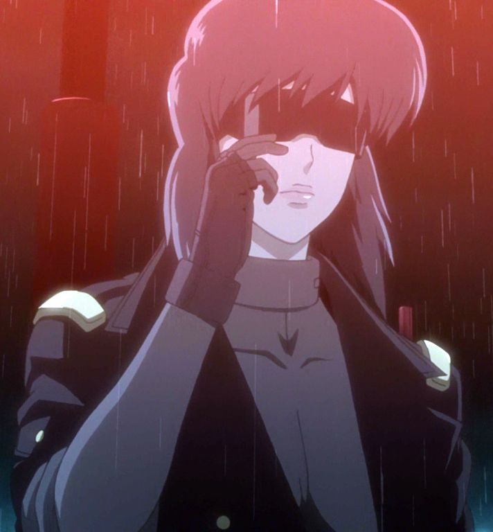 Solid State Society Ghost In The Shell Motoko Kusanagi Ghost