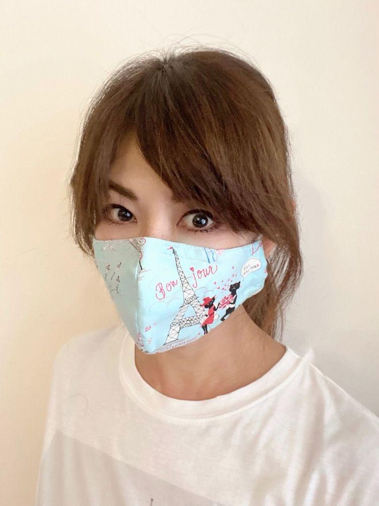 山田佳子 マスク作り マスク 美人 顔 顔