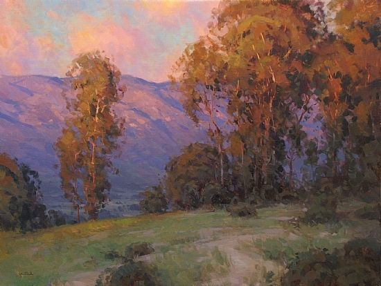 The Golden Hour by Jesse Powell Oil ~ 30 x 40