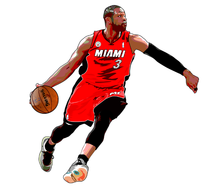 Cartoon For Dwyane Wade Fans Www Wecartoon Com Nba Dwyanewade Miamiheat Chicagobulls Cartoon Sports Celebrities Dwyane Wade Nba Artwork