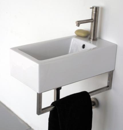 Lacava Aquamedia Washbasin-5074 | Small bathroom
