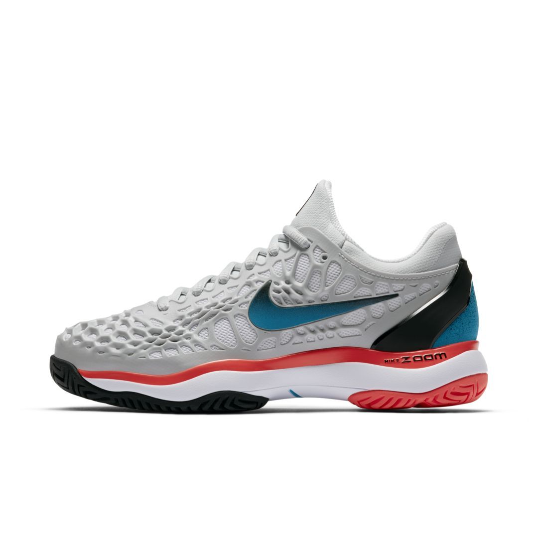 a5c96e0bfc3f NikeCourt Zoom Cage 3 Women s Hard Court Tennis Shoe Size 11.5 (Pure  Platinum)