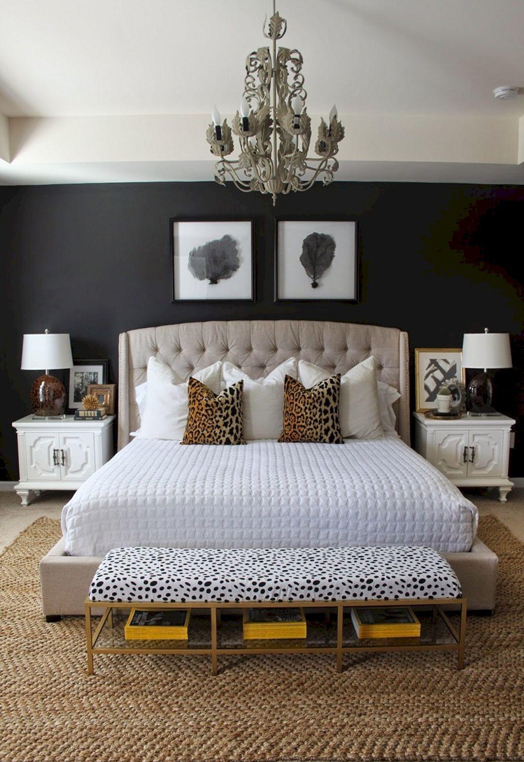 farmhouse glam decor bedroom