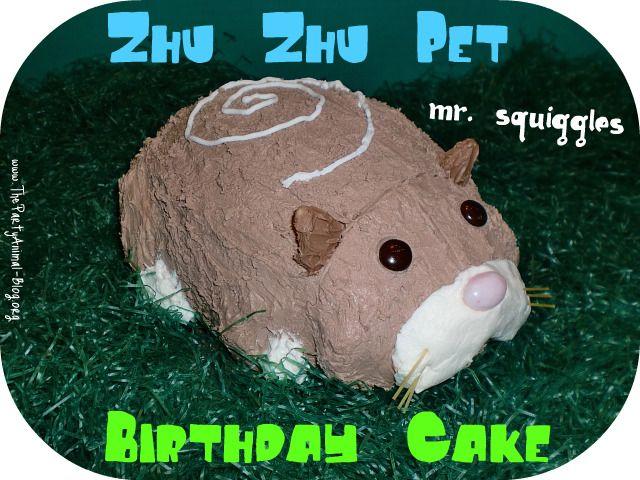 How To Make A Zhu Zhu Pet Birthday Cake Animal Birthday Animal