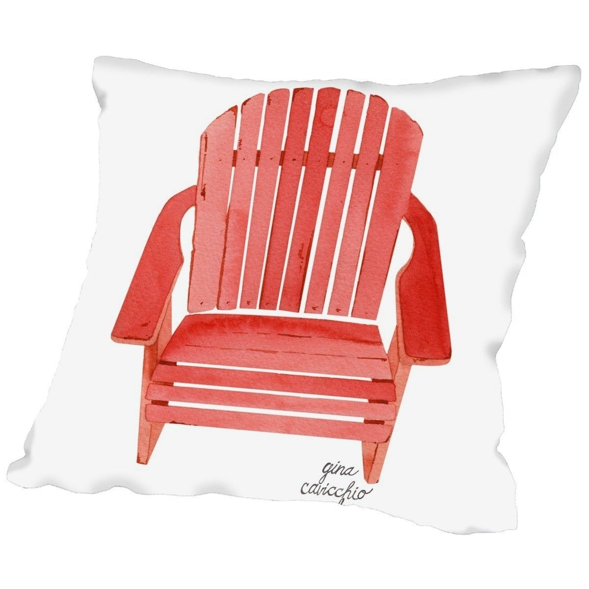 Gina maher leary adirondack chair throw pillow products