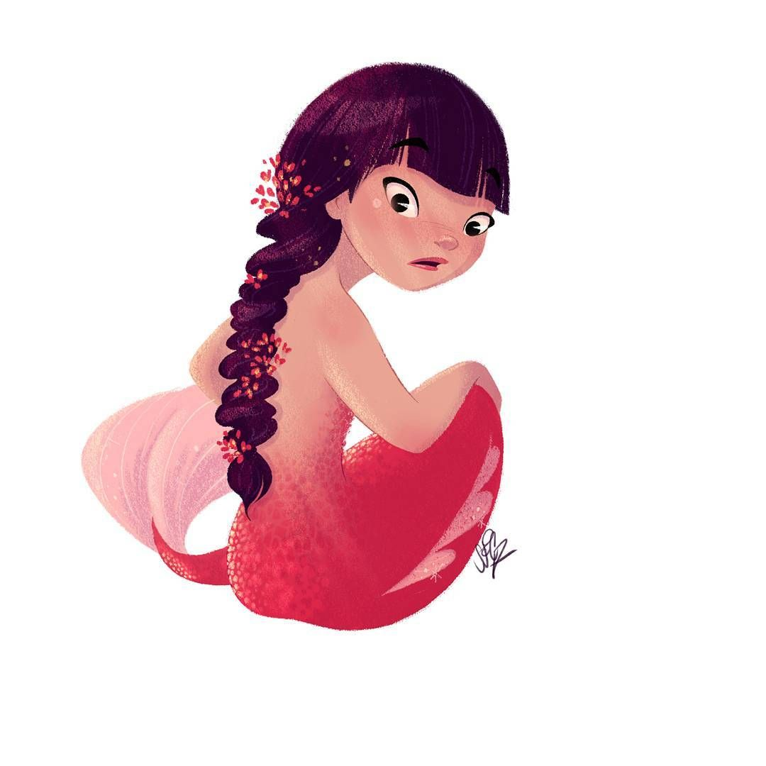 Mermaid by sarahconradsen m is for mermaid pinterest mermaid