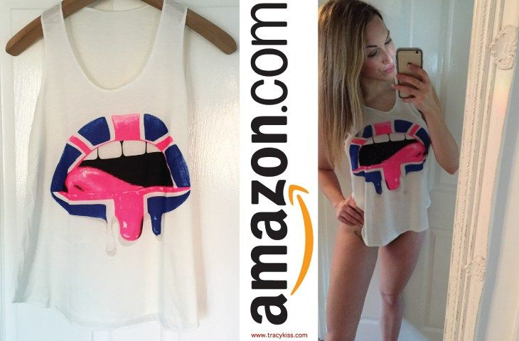 Amazon Wishlist Wet Paint Lips Vest