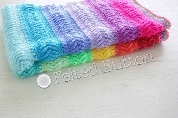 Crochet Pattern, Afghan, Blanket, Plaited Throw   Colores ...