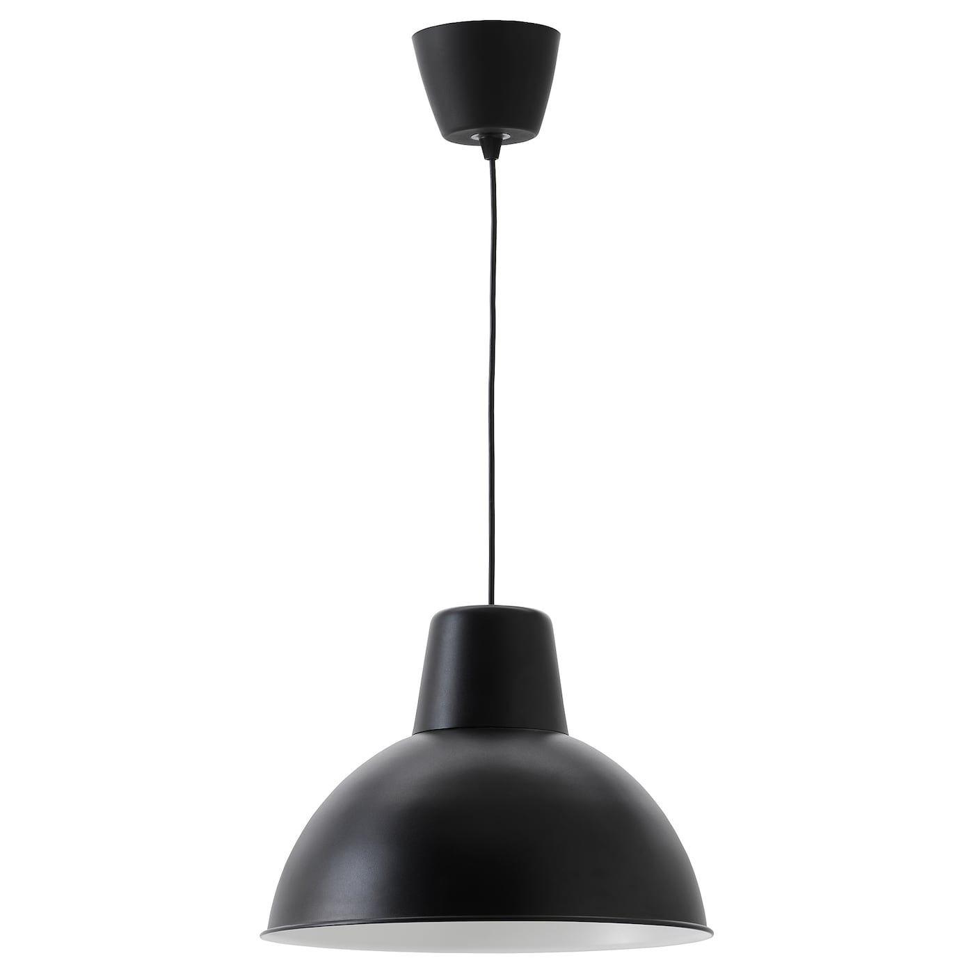 RANARP Taklampa, svart, 38 cm IKEA