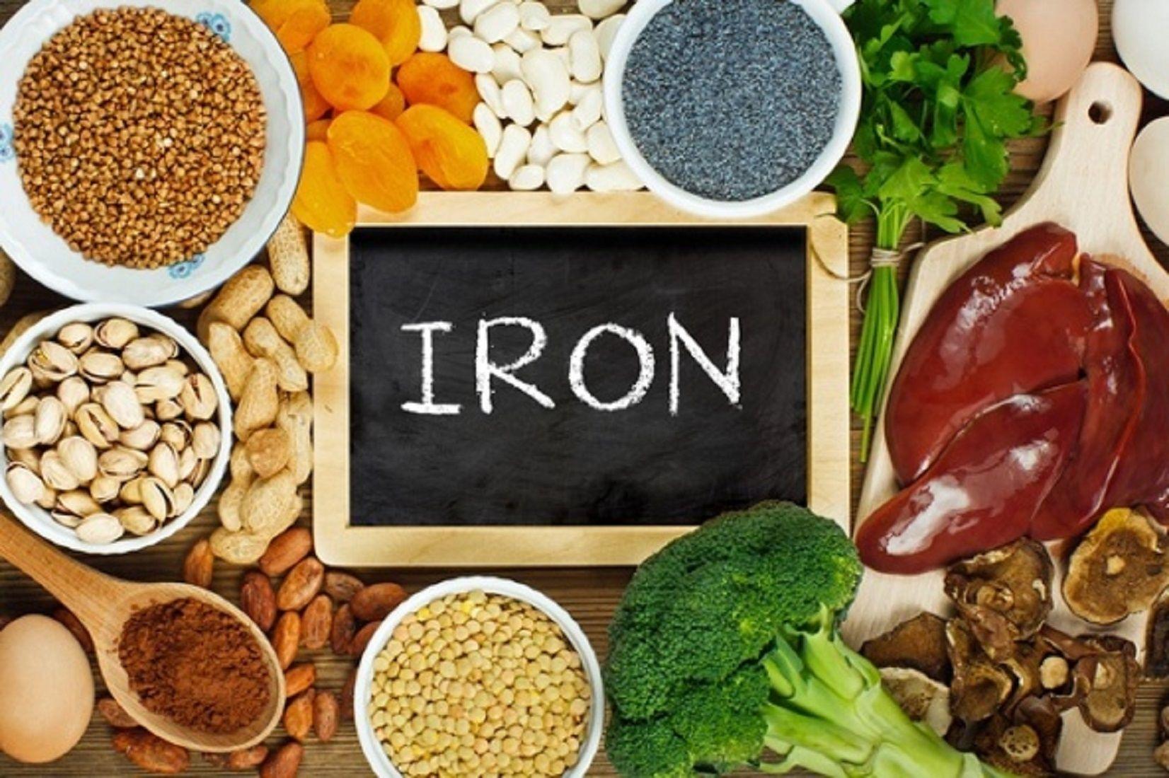 غذای آهن دار