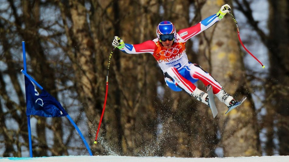 Winter Olympics Photo of the Day Skiing Speed Demon