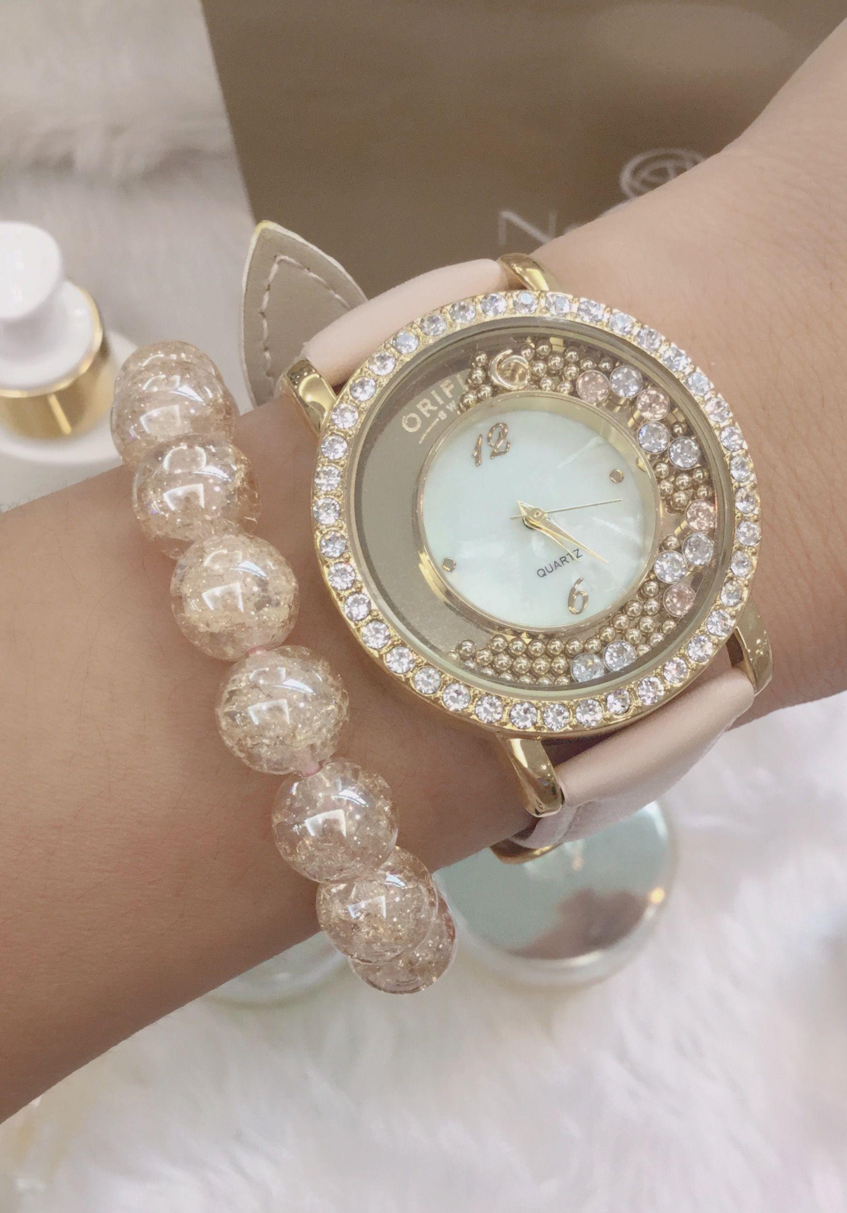 นาฬิกา สวยๆจาก ออริเฟลม สวยถูกใจมากค่ะ