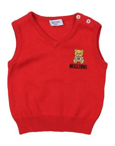 MOSCHINO BABY Boy's' Sweater Red 3 months