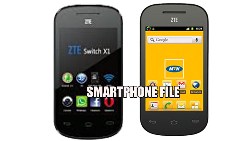 ZTE Switch X1 Smart phone Official Firmware Download, This