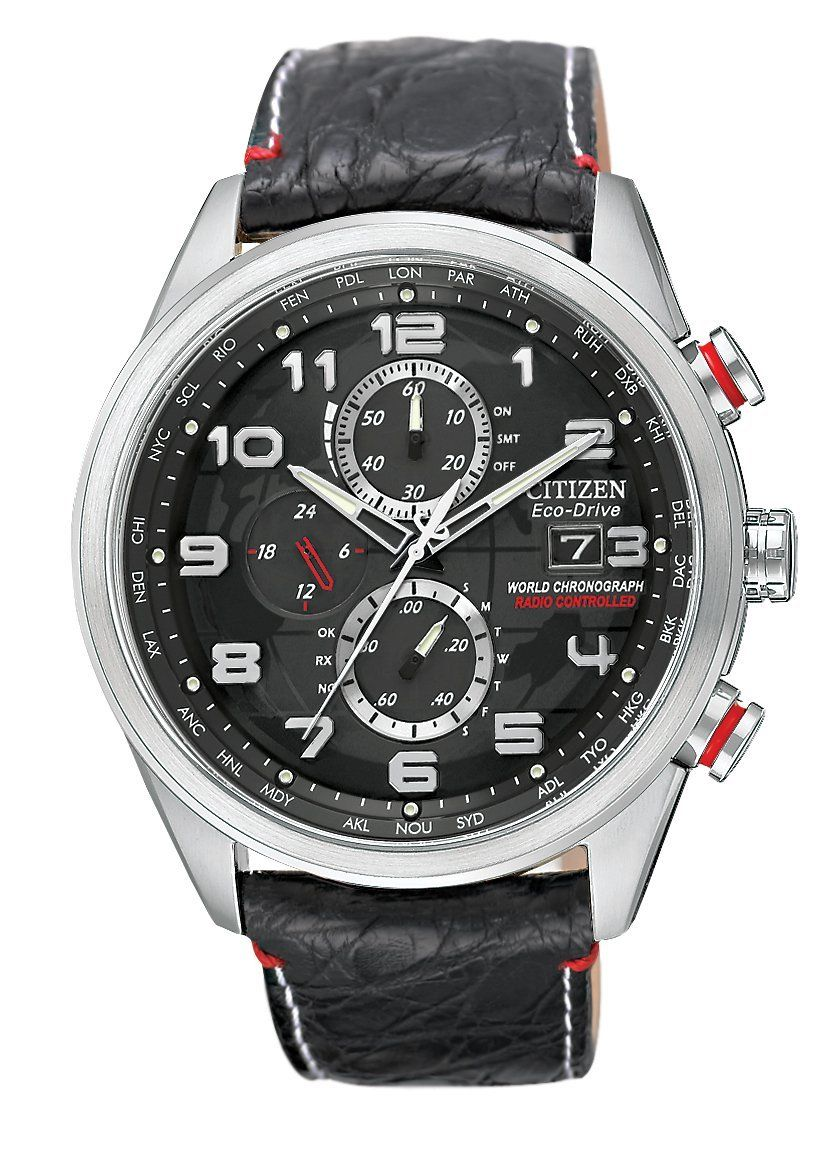 7cca4f872 Citizen Men's AT8030-18F Eco-Drive Limited Edition World Chronograph A-T  Watch | Price: $795.00 | Sale: $596.25 | Eco-drive is fueled by light so it  never ...