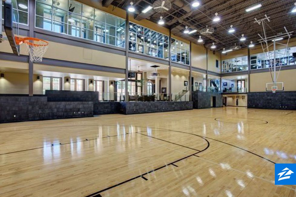 This Luxurious Texas Home Is A Slam Dunk Complete With A Full