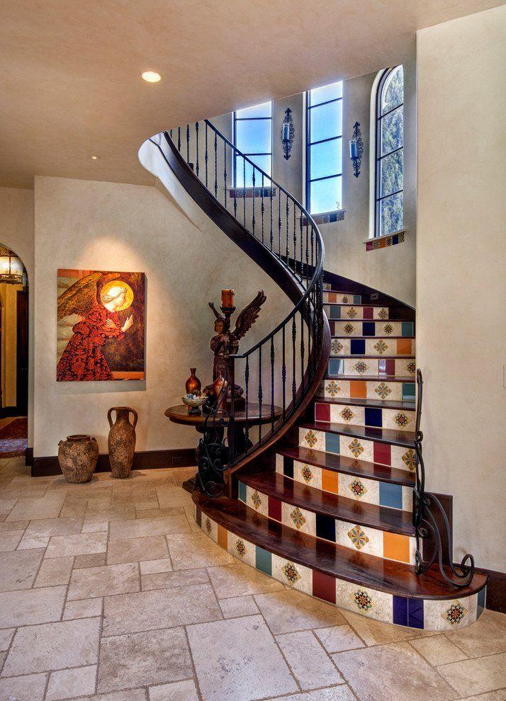 15 schöne mediterrane Treppe Designs, die Sie überraschen werden ...