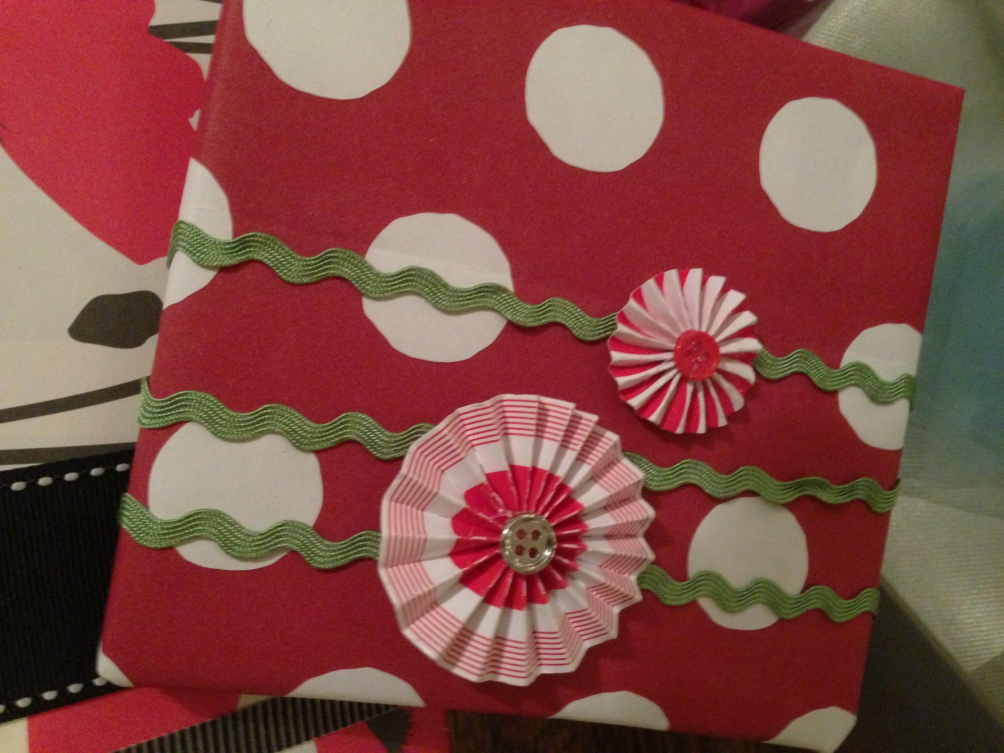 More wrapping