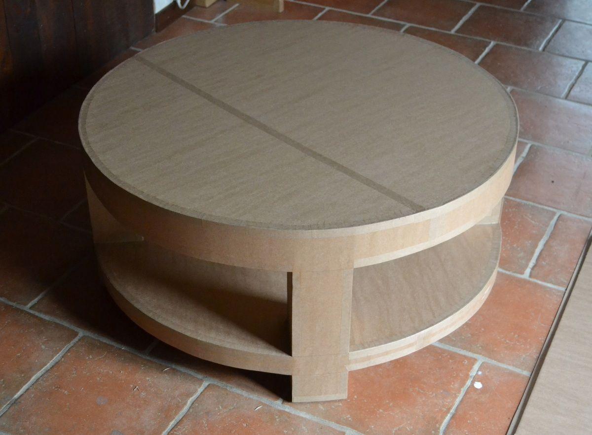Table Basse En Carton Brut Design En Carton Carton Diy Meubles En Carton