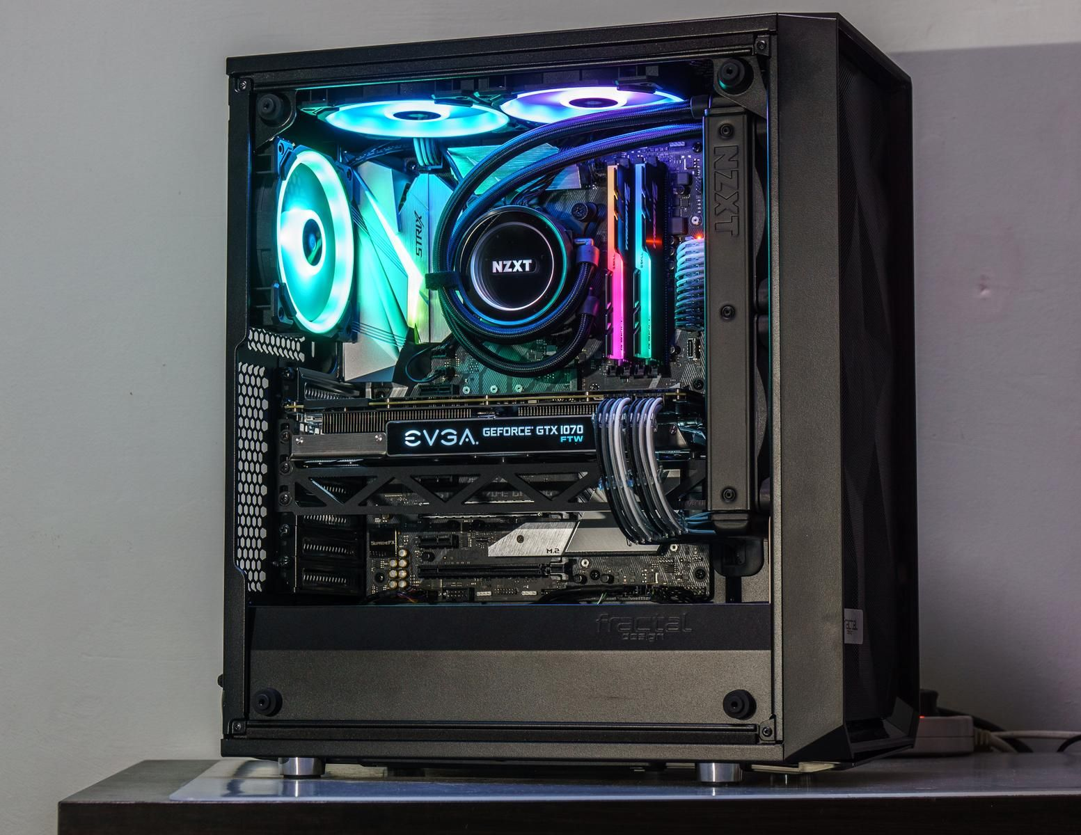 zincfusion's Completed Build - Core i7-8700K 3 7GHz 6-Core