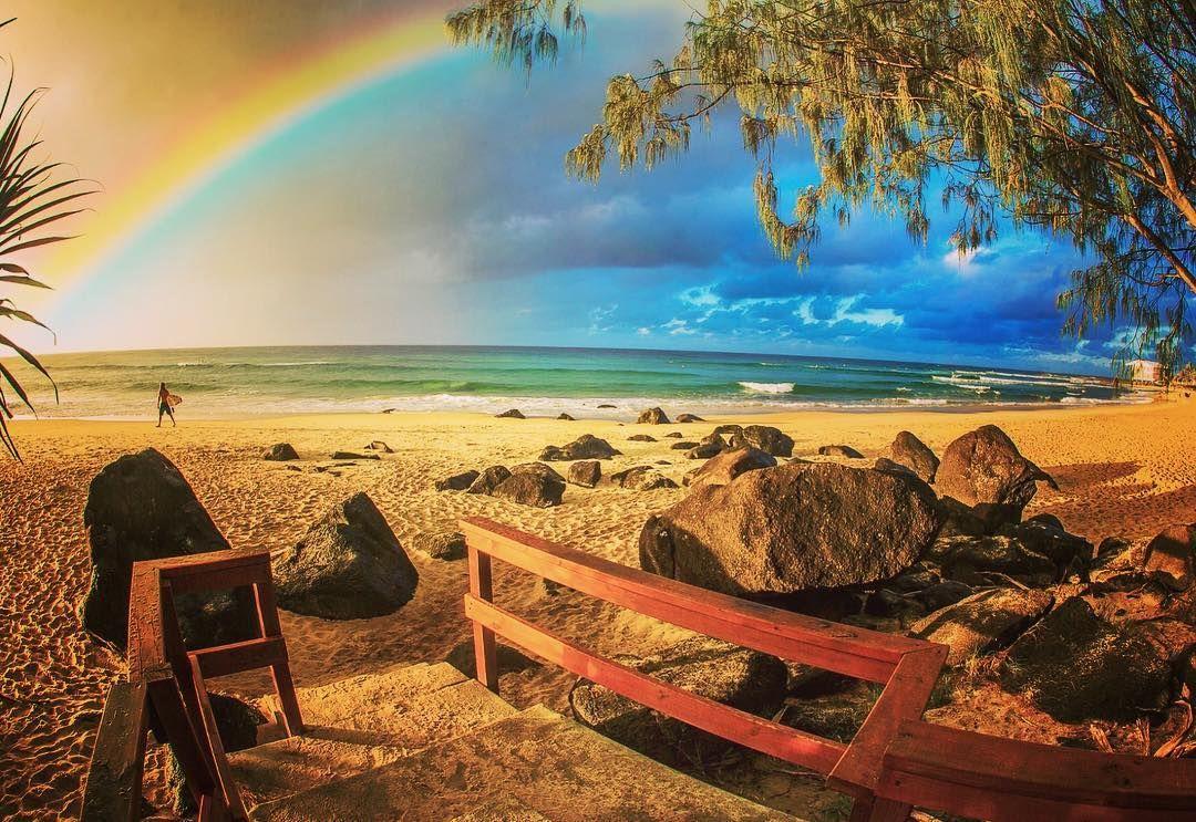 #goldcoast#rainbowbay#rainbow#snapperrocks by coolchangephotoghraphy