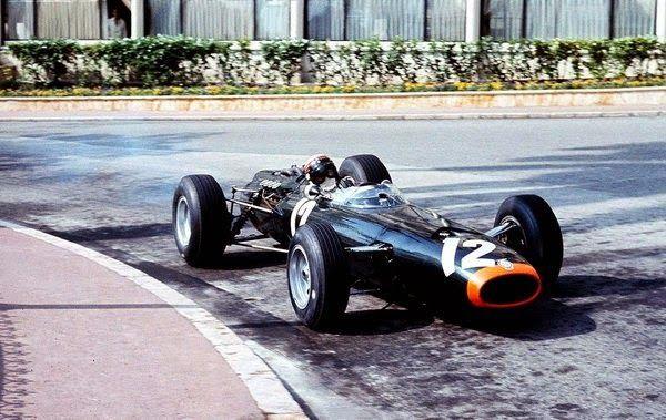 1966 GP Monaco (Jackie Stewart)BRM P261