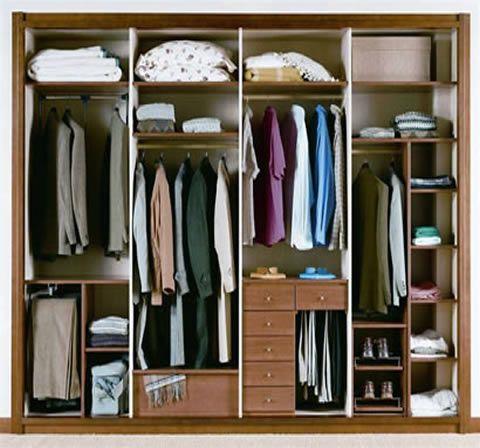 Interiores de armarios empotrados casa mejias - Diseno interior armarios empotrados ...
